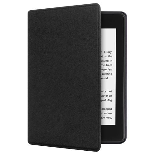 Smart Sleep/Wake Flip Case for Amazon Kindle Paperwhite 4 (2018) - Black